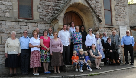 Croscombe church family